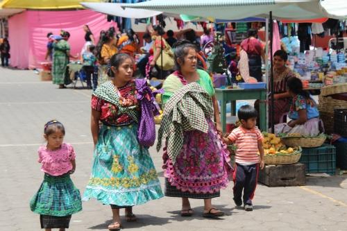De markt in Santa Maria de Jesus
